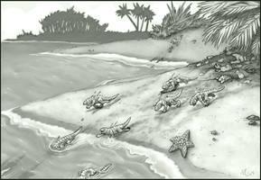 Scroll of Fallen Races - Mosok by Sayda