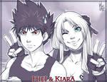 Commission + Hiei and Kiara