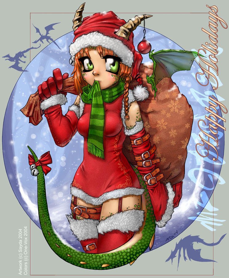 :.A Dragon Girls Christmas.: by Sayda