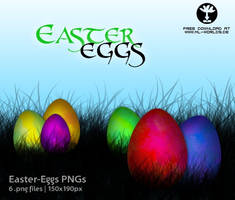 Easter Eggs PNGs by ML-Worlds
