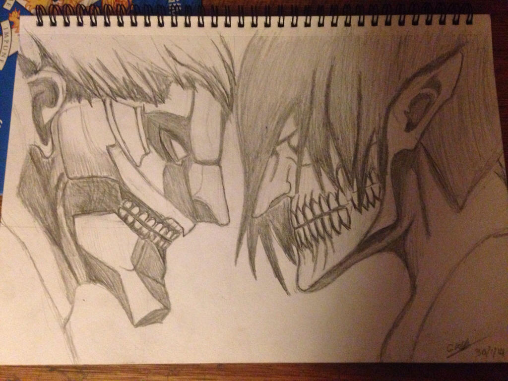 Reiner Braun Ar... Attack On Titan Eren Titan Vs Armored Titan