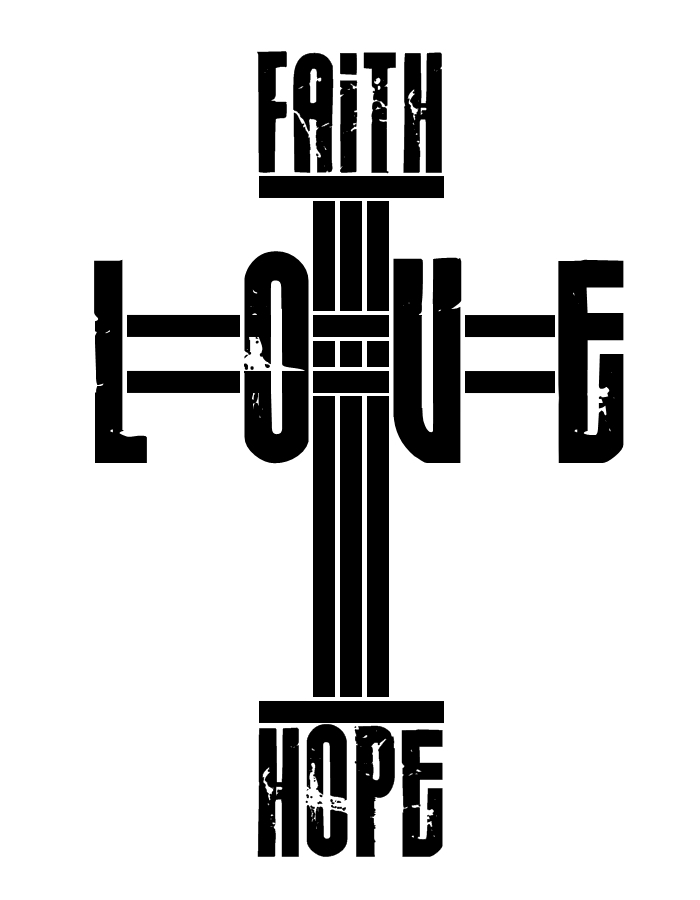 Symbols of Faith Hope And Love images