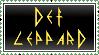 Def Leppard stamp by krassrocks