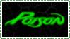 Poison stamp by krassrocks