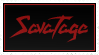 Savatage stamp by krassrocks
