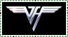 Van Halen stamp by krassrocks