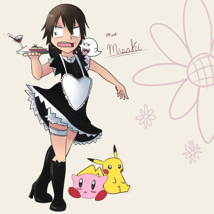 Maid Misaki ::Junjou Romantica:: by ghostusami on DeviantArt