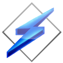 Vista Winamp Blue Icon by Dr-Bee