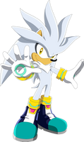 Silver The hedgehog - Sonic X