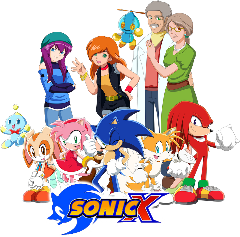 Sonic X - REBOOT by Noble-Maiden
