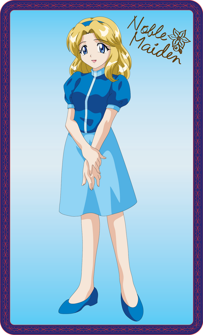 Maria Robotnik by Noble-Maiden