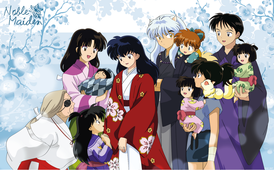 The Wedding by Noble-Maiden on DeviantArt Inuyashas Family With Kagome