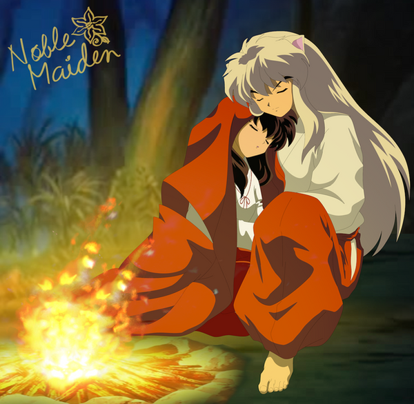 InuKag Week 2013 - Fire by Noble-Maiden