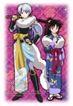 Towa and Setsuna AU
