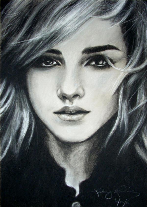 Emma Watson by bluewhale13