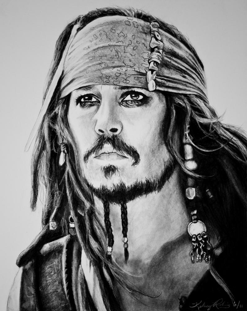 how to draw jack sparrow videos