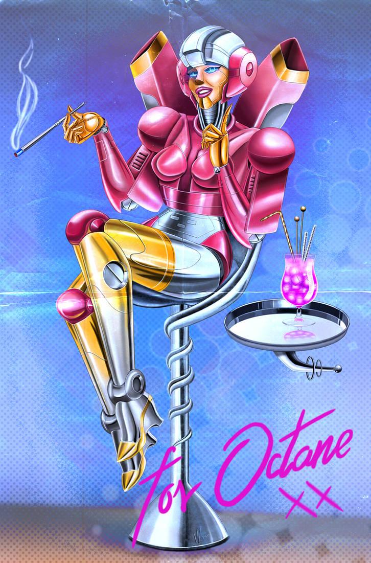Octane's Cheesecake Robot