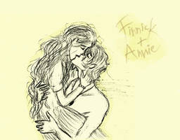 Finnick and Annie: You found me by xxIgnisxx