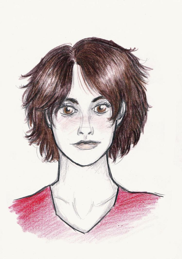 Johanna Mason (coloured portrait) by xxIgnisxx on DeviantArt