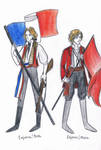 Enjolras in two versions