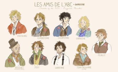 Les Amis de l'ABC (and Gavroche) by xxIgnisxx