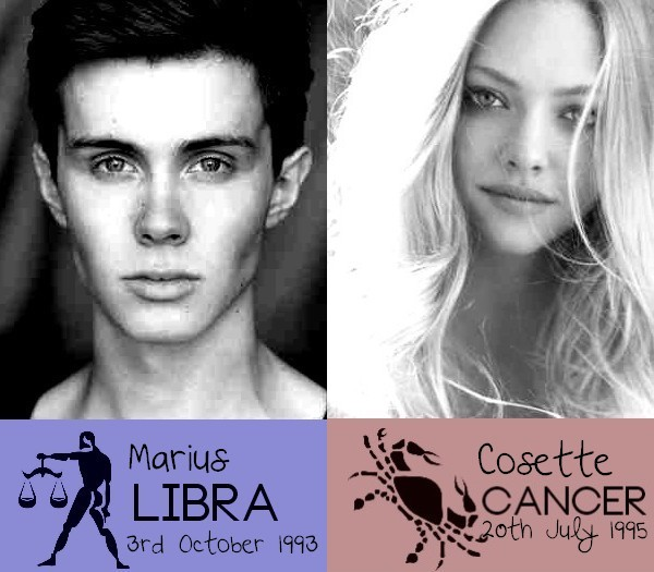 Marius X Cosette by xxIgnisxx