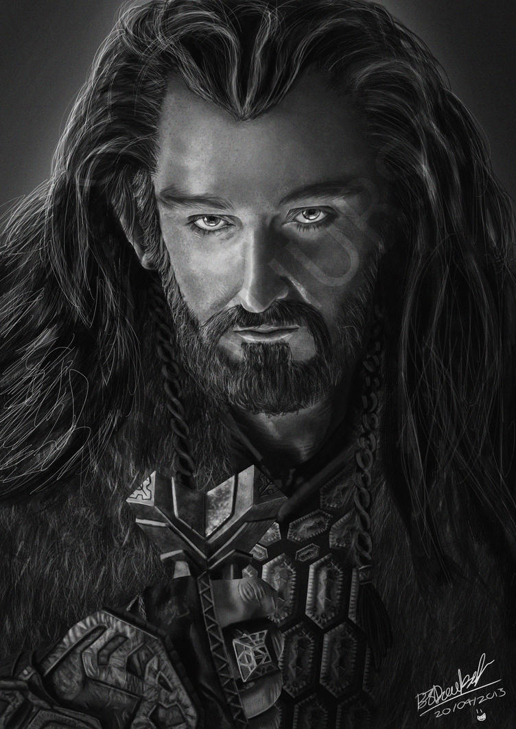 Thorin Oakenshield by Doe-jo