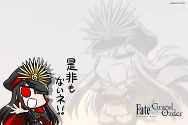 Oda Nobunaga FGO 2 by junshibuya