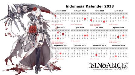 Sino Alice - Snow White  - Indonesia Calendar by junshibuya