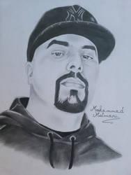 Moroccan rapper Muslim by ElMetmari