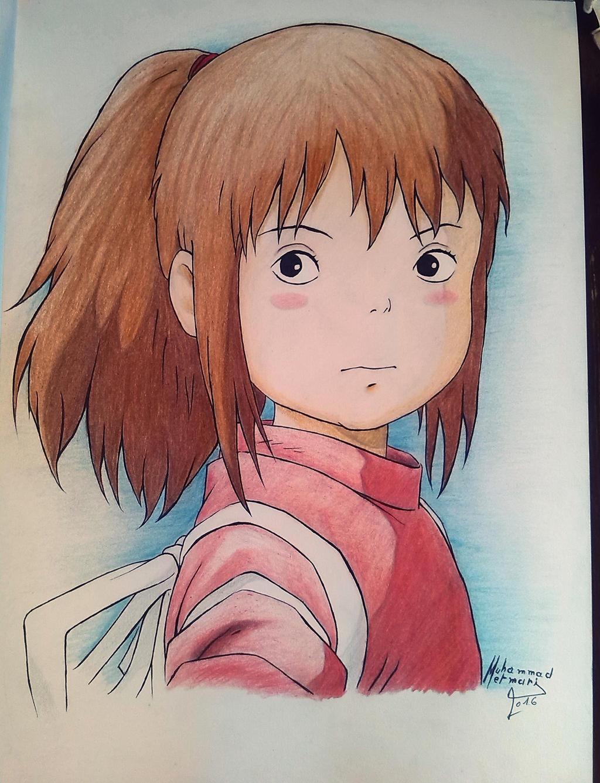 Spirited Away - Chihiro by ElMetmari on DeviantArt