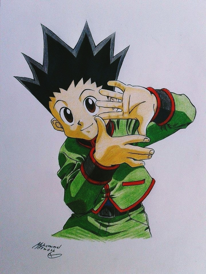 HxH Gon Freecss by ElMetmari