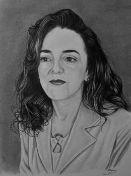 Portrait of Aunt Karima