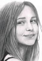 Female portrait by IceRider098