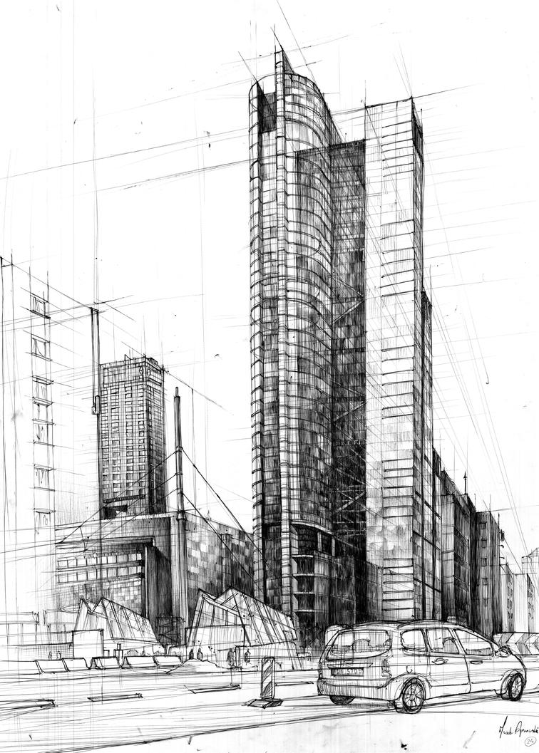 architectural drawings of skyscrapers. Wonderful Skyscrapers Skyscraper Rondo 1 Architecture By IceRider098  To Architectural Drawings Of Skyscrapers N