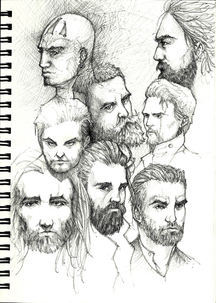 Sketch Faces by IceRider098