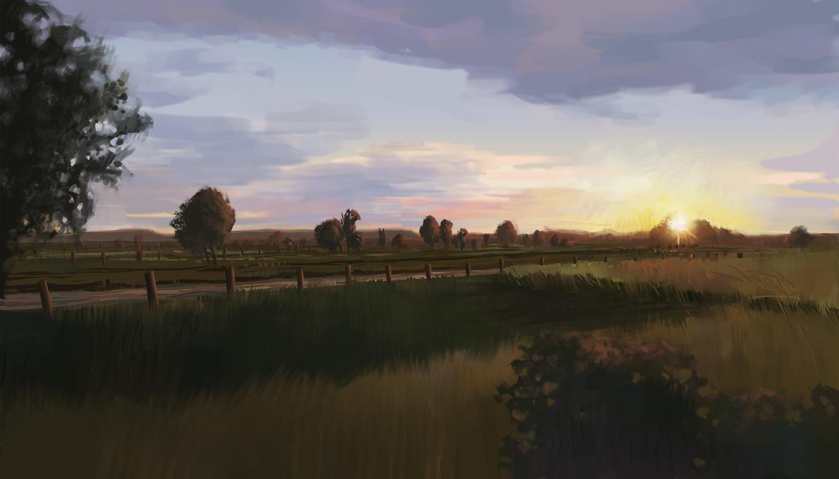 Summer Fields by IceRider098