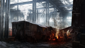 Railway Depot Concept by IceRider098