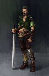 Fantasy Character Concept