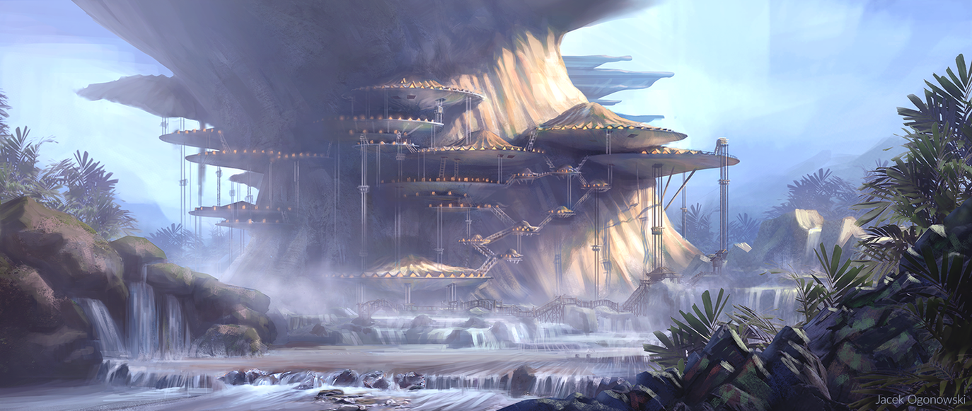 Arboreal Colony by IceRider098