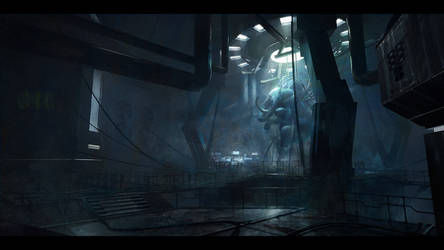 Sci-fi Hall Concept