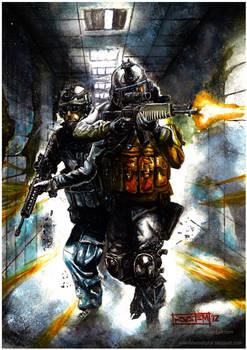 Battlefield 3 Watercolor