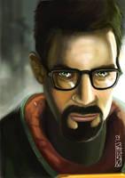 Gordon Freeman Half Life 2 by RV5T3M