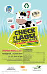 Check the Label Poster
