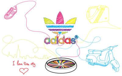 Adidas by occasionallyxxx