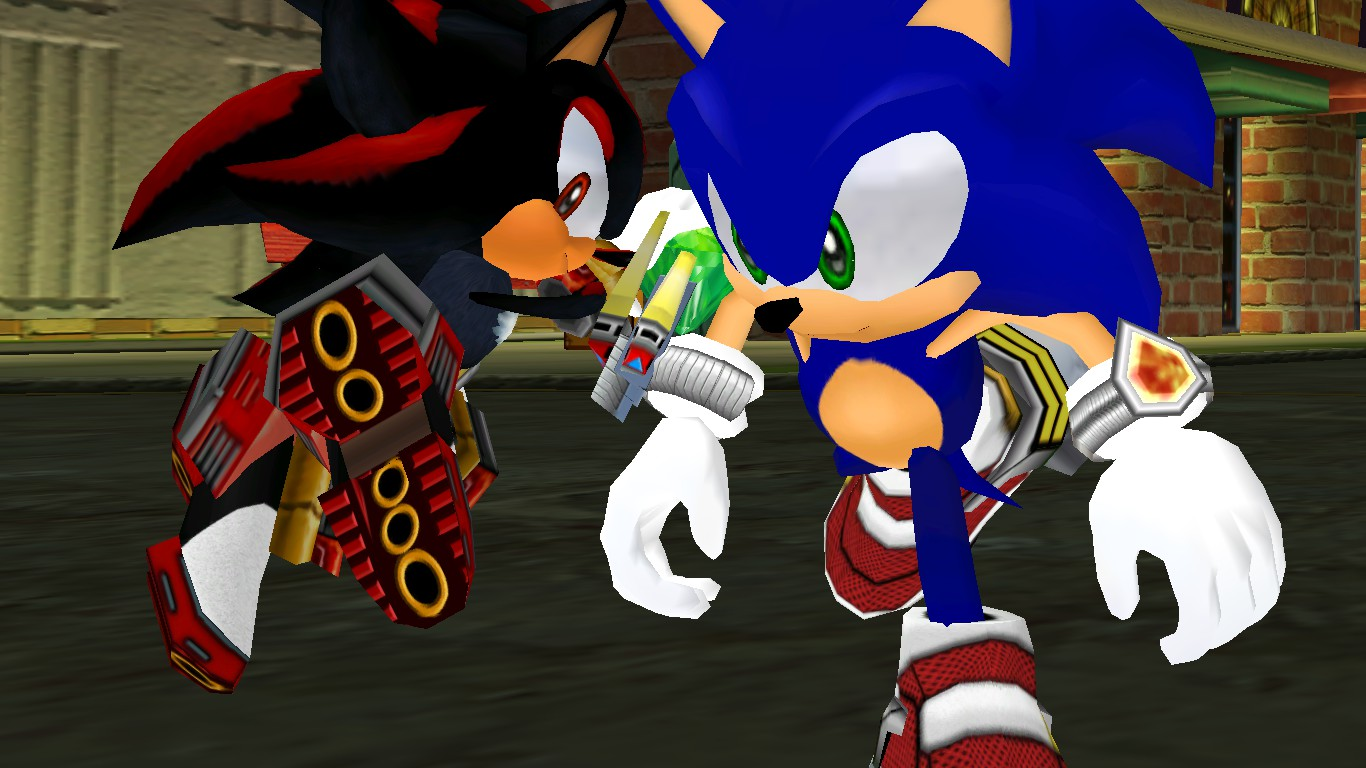 Sonic and shadow hd reskins for sa2 by gamathecast on - Jeux de sonic vs shadow ...