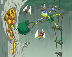 June 9 - Jungle Honey-Getter Boy by EVanimations