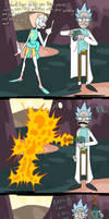 Rick and Morty / Steven Universe Crossover by EVanimations