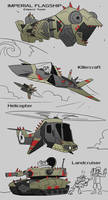 Conquest Vehicles of The Race by EVanimations