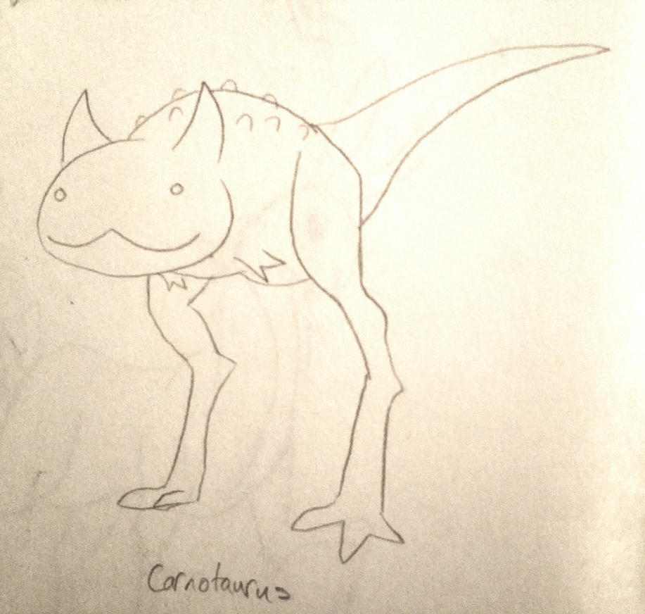 CDC Jun 2018 Day 25 - Carnotaurus by EVanimations